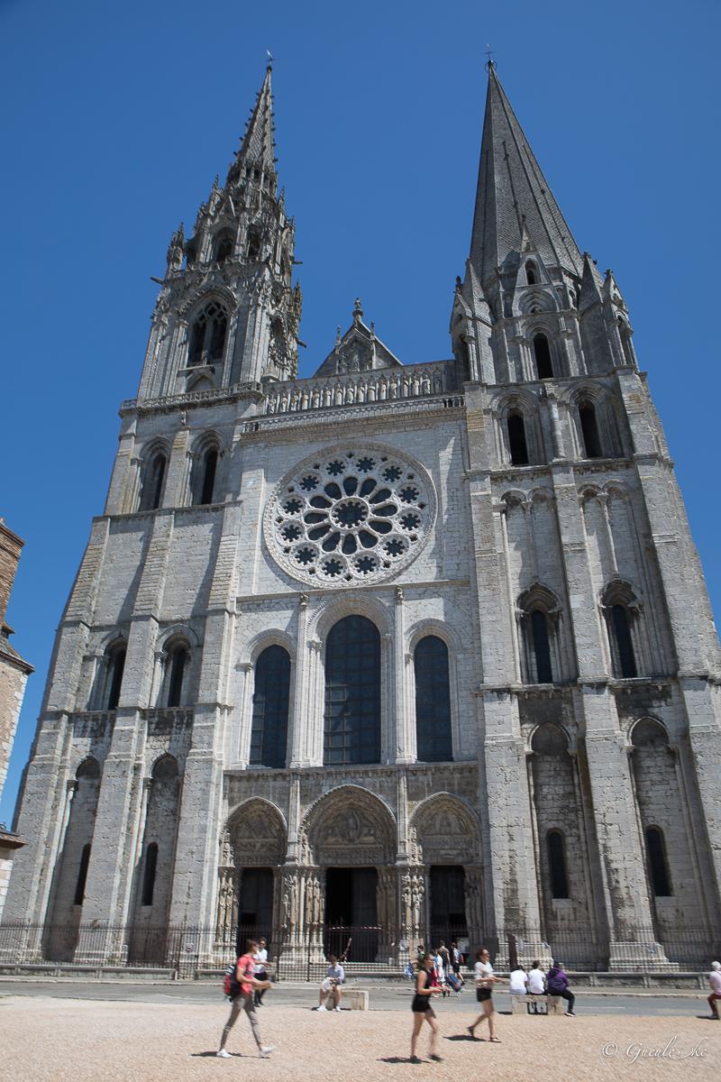 Cathédrale de Chartres (façade ouest)