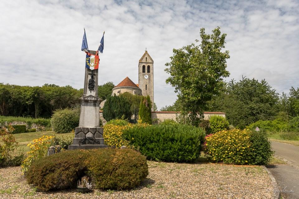 Eglise Saint-Evence à Chermizy-Ailles