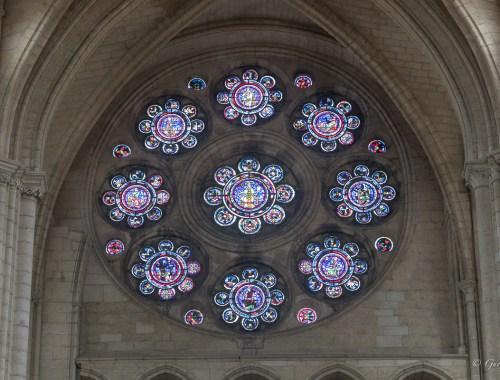 Cathédrale Notre-Dame de Laon - Rose des arts libéraux