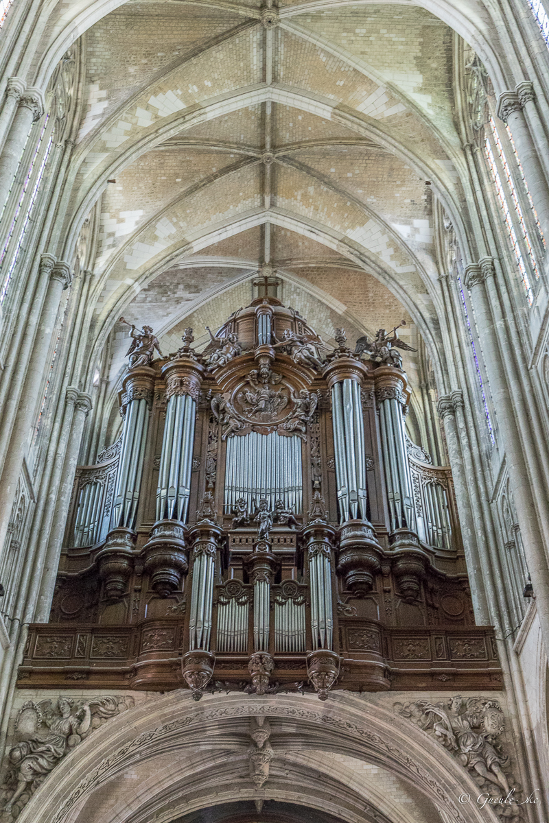 Orgue - Basilique Saint-Quentin