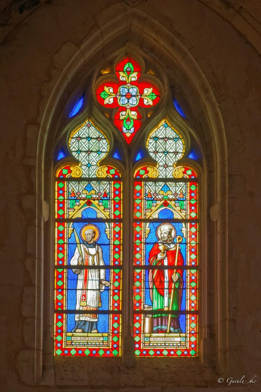 Vitrail (XIXe s.) - Eglise Saint-Pierre-es-Liens de Céton