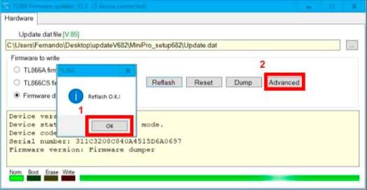 Atualizar Firmware TL866A » Blog da Global