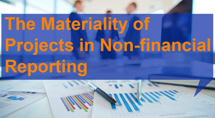 Materiality of Projects in Non-financial Reporting