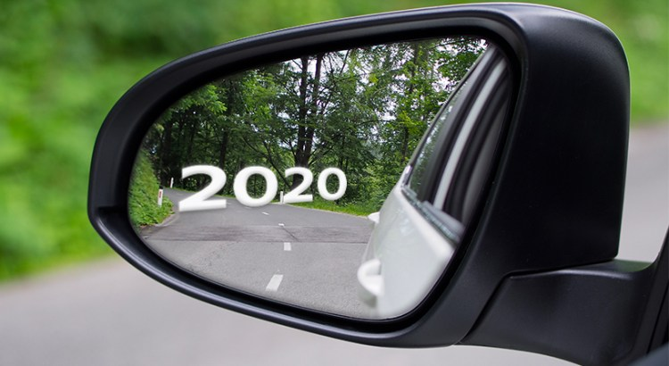202 in the rearview mirror