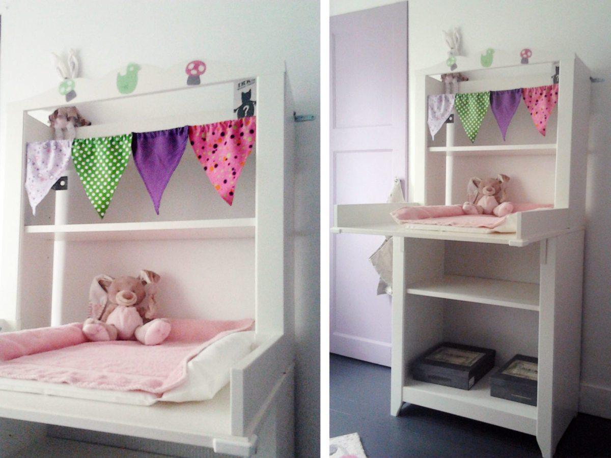 chambre-petite-fille-décoration-pastel - Happy Chantilly