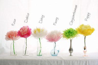 diy fleurs en papier de soie happy chantilly. Black Bedroom Furniture Sets. Home Design Ideas