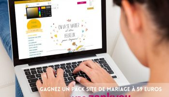 concours giveaway pack site mariage gagner wedding website to win zankyou - Zankyou Liste De Mariage