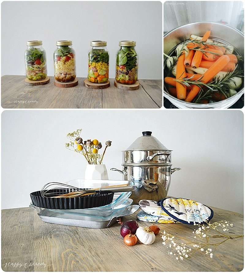 Cuisine minimaliste des ustensiles plus sains dans ma Cuisine minimaliste