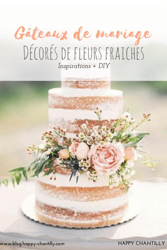Oh Les Jolis Gâteaux De Mariage Fleuris Happy Chantilly