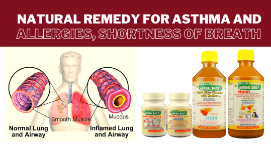 natural remedy for asthma, allergies, shortness of breath