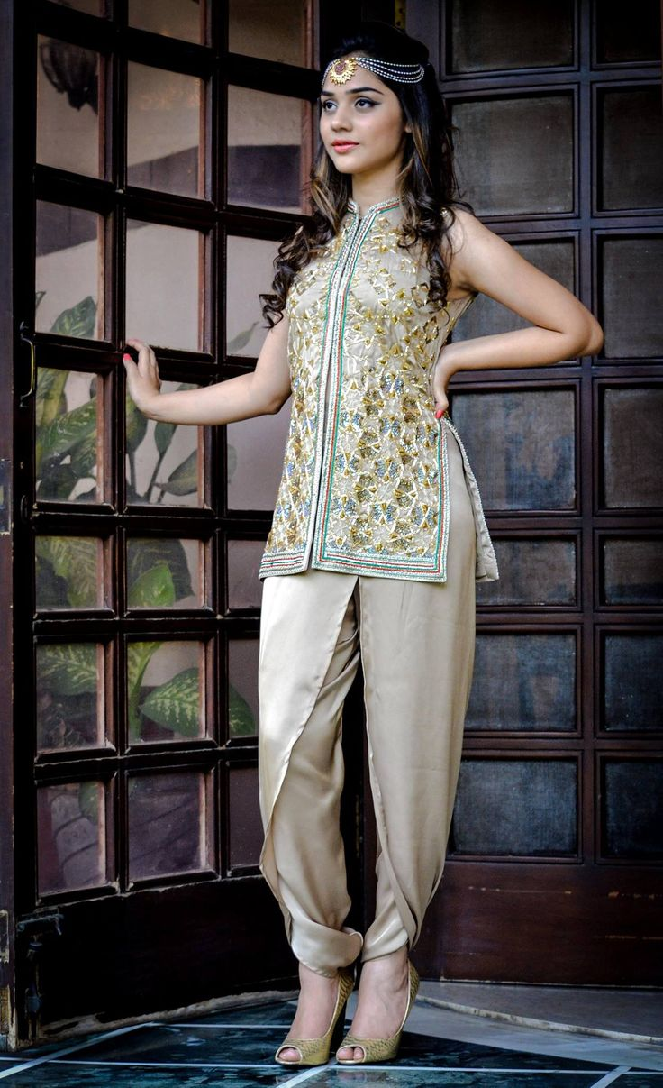 Image result for top ethnic jackets outfits for indian weddings