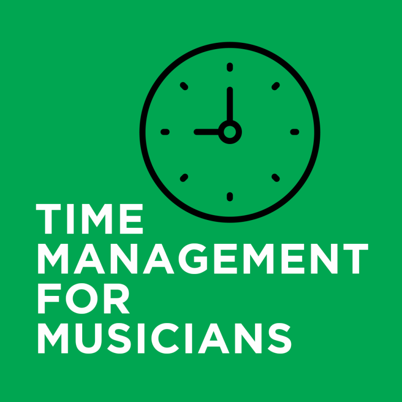 time management for musicians
