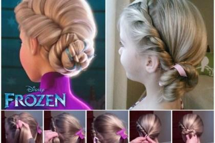 10 belles coiffures pour votre petite fille facilement réalisables pour un baptême !