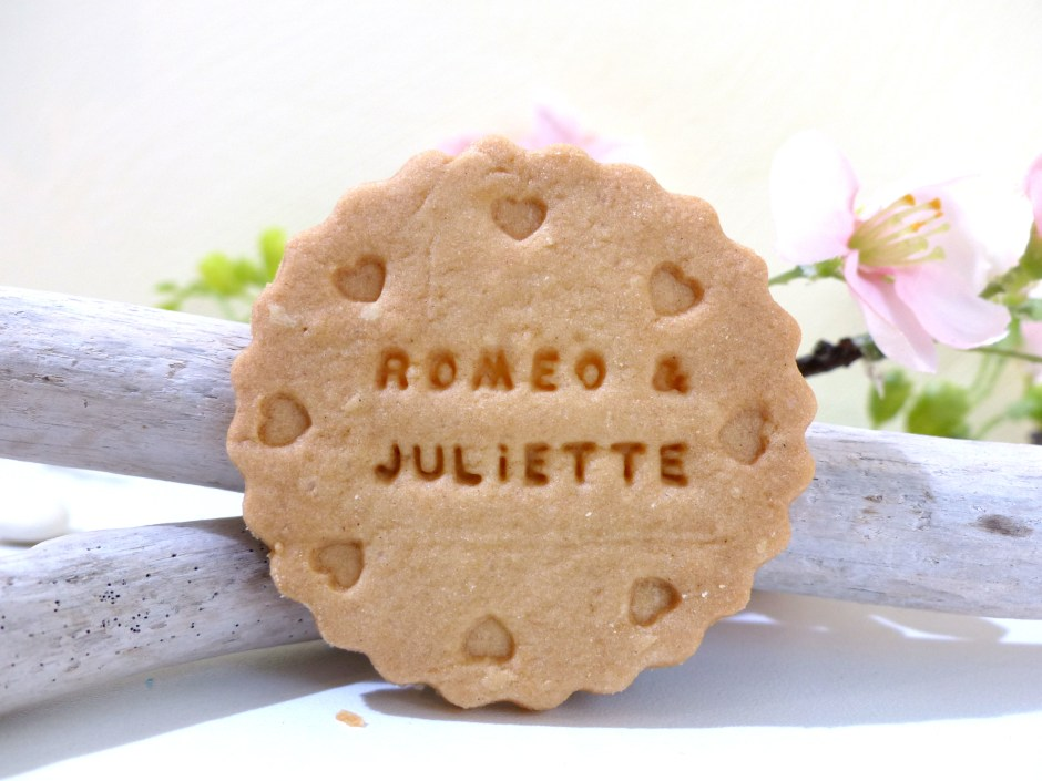 lot 10 biscuit sablé rond