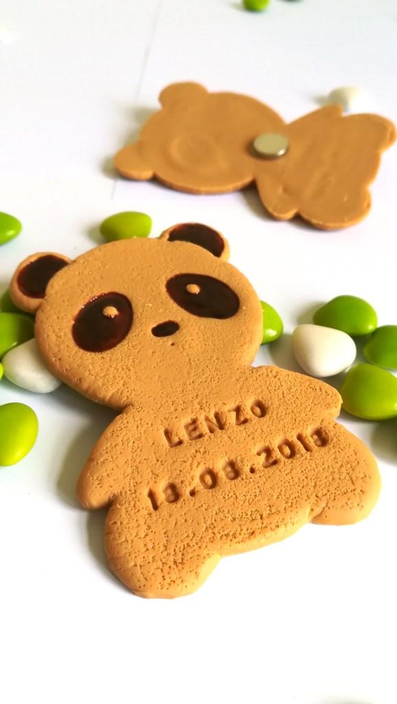 cadeau invité thème panda, aimant