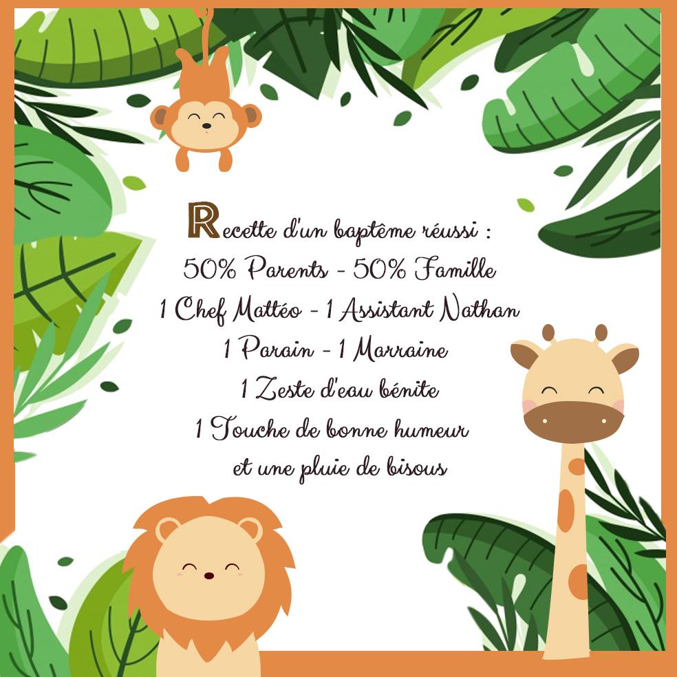 faire-part-invitation-jungle-savane-lion-girafe-singe