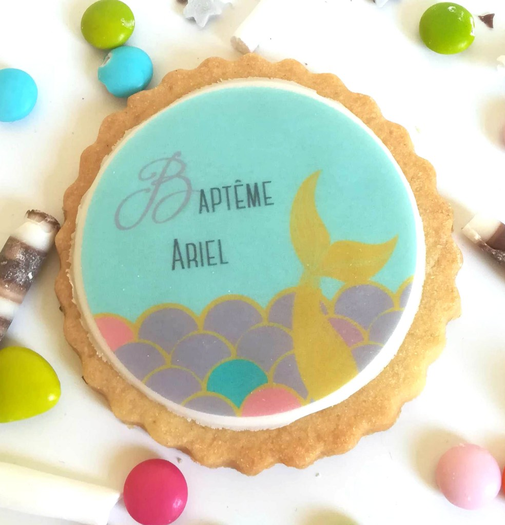 biscuit-personnalise-theme-sirene-bapteme