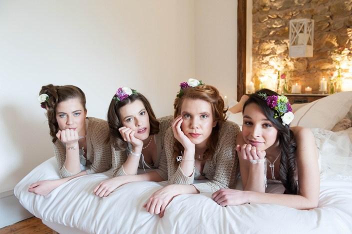 Shooting « La mariée et ses demoiselles d'honneur »