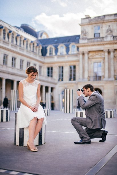 Shooting parisien « Gold, Black and White »