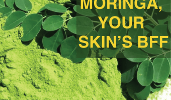 Superfood Moringa, the best skin food
