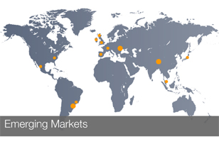 Emerging markets outperform in August