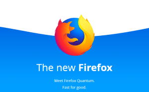 Image: Firefox Quantum with Web Extensions