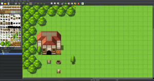 RPG Maker game engine