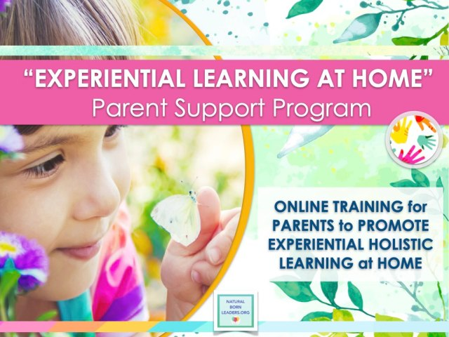 Experiential Learning at Home Parent Support Training