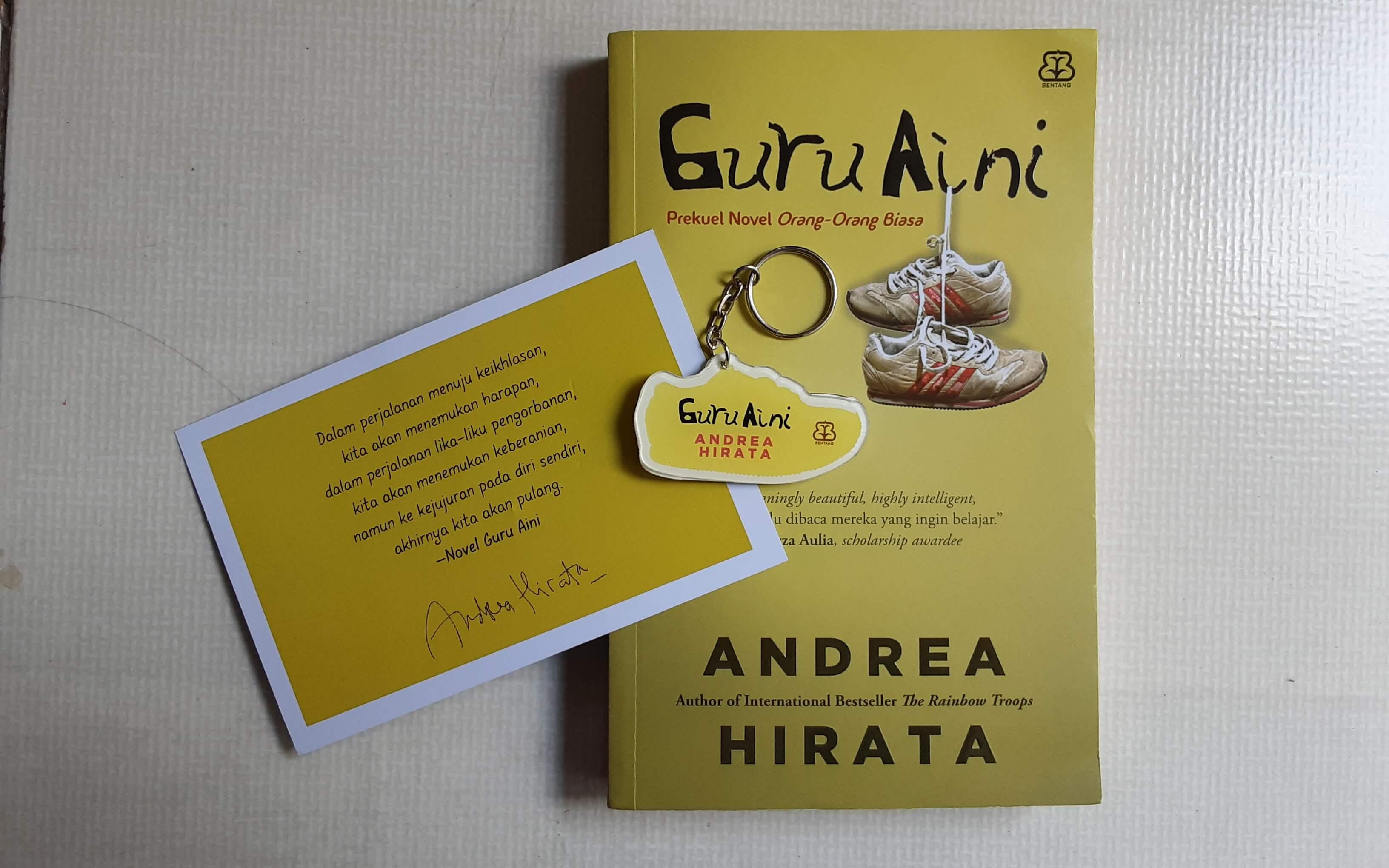 Buku Guru Aini: Matematika Dilematis dari Andrea Hirata