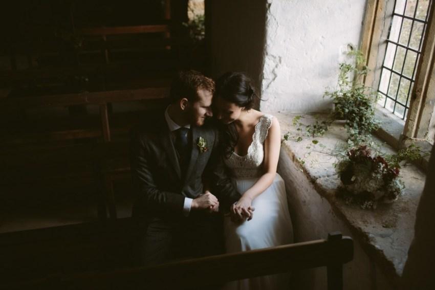 Rebecca Goddard Alternative wedding photography Somerset Brympton House-8