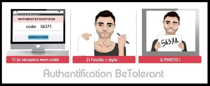BeTolerant - Authentification Profil Utilisateur