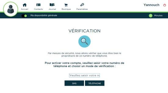 verification speed phoning