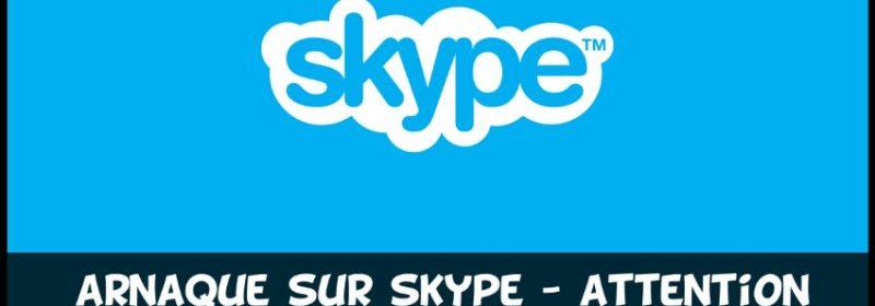 Arnaques & Escroquerie sur Skype Webcam