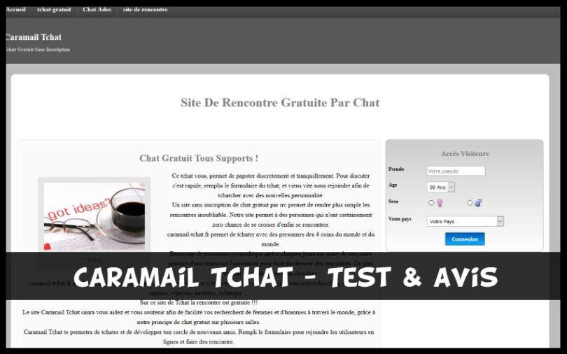 Caramail Tchat - Test & Avis