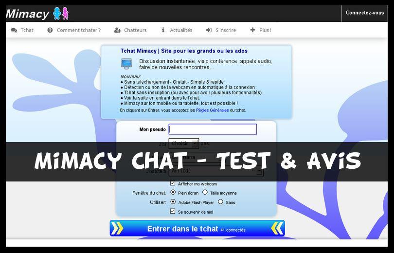 Mimacy Chat - Test & Avis