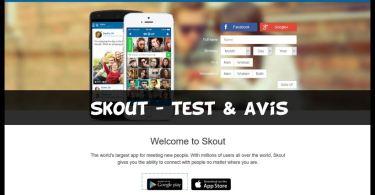 Skout - Test & Avis