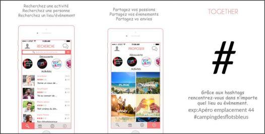 Apercu Interface - Together App