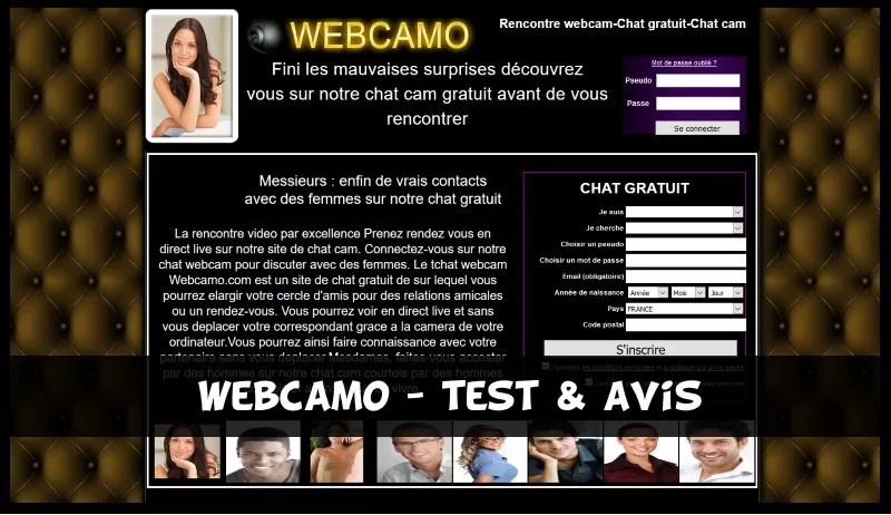 WebCamo - Test & Avis