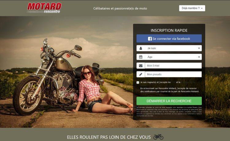 site rencontre gratuit motard)