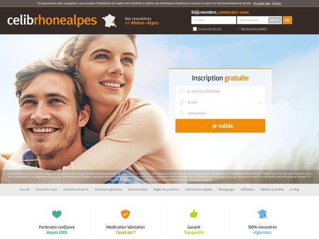 CelibRhoneAlpes : Le meilleur site de rencontre sérieux en Rhone Alpes