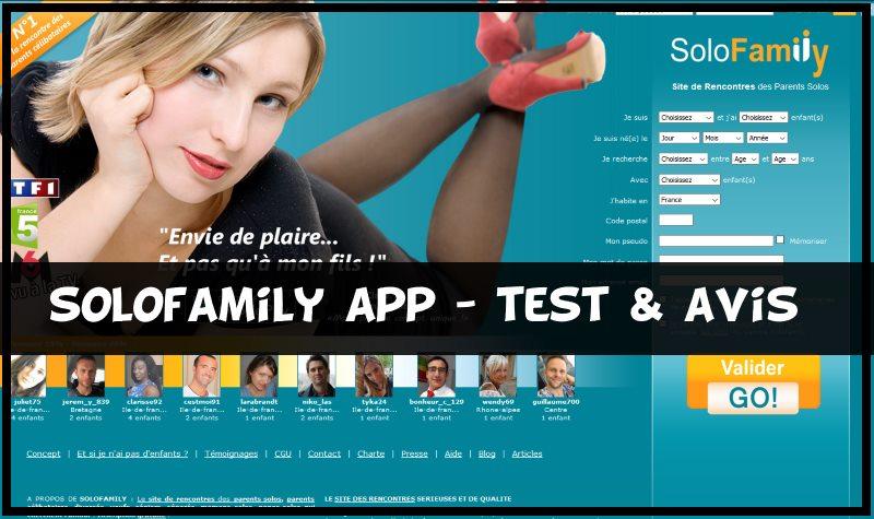 Solofamily app - test & avis