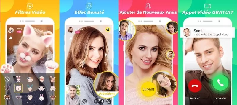 LiveChat App - Apercu Interface