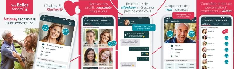 appercu application mobile nosbellesannes