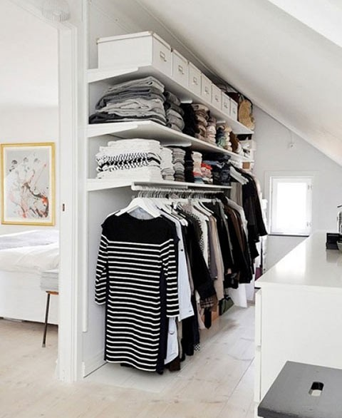 build a walk in wardrobe from your