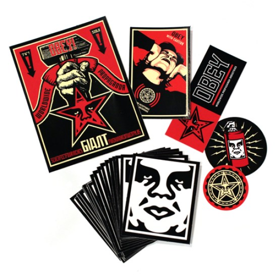OBEY GIANT tiSckers