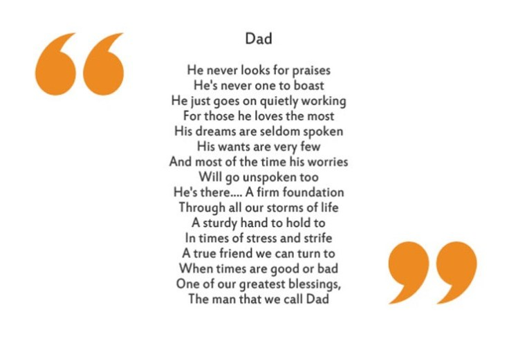 Dad By Karen K Boyer