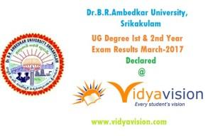 Dr.B.R.Ambedkar University UG Degree Results