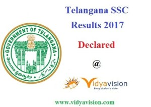 TS SSC Results 2017 - Declared