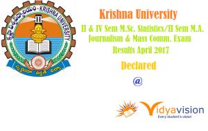 KRU II & IV Sem M.Sc Results