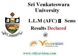 SVU LLM 2nd sem result 2016